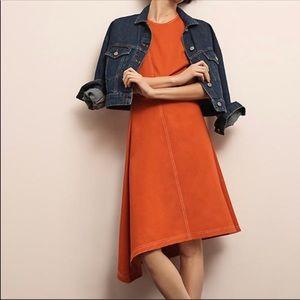 Anthropologie • Maeve Asymmetrical Linen Dress